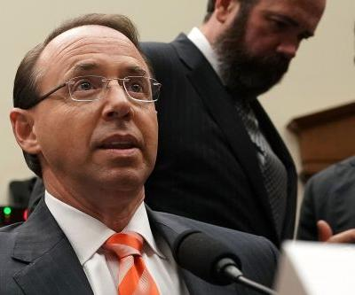 Rosenstein: 'Wrongdoers' in Hillary email probe must be punished