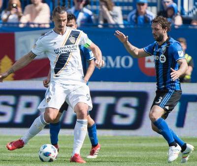 Short-handed Galaxy beat Impact after Ibrahimovic red card