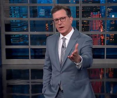 """Did Stephen Colbert Dip Back Into """"C*ck-Holster"""" Talk With His Monologue on Trump in Russia?"""