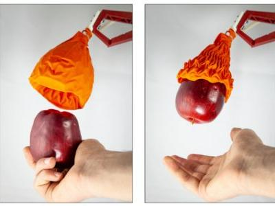 Researchers develop an origami-inspired robot hand with a gentle touch