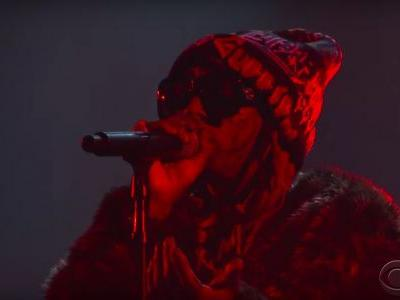 "Watch Lil Wayne Perform ""Don't Cry"" On Colbert"