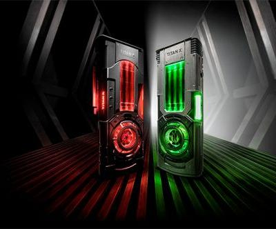 NVIDIA Launches Star Wars Themed Titan Xp Collector's Edition Graphics Cards