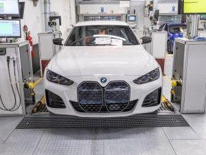 All-electric BMW i4 Production Begins At Munich Plant