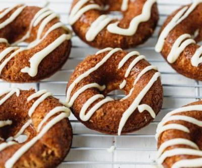 Baked Apple Donuts