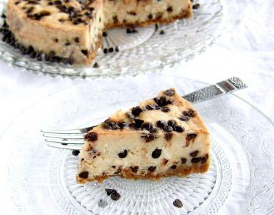Mascarpone, Ricotta, Chocolate Chip Cheesecake - pressure cooker recipe
