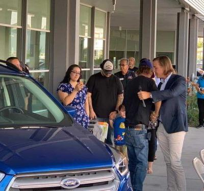 Widower of El Paso victim gets new car donated to him after his was reportedly stolen