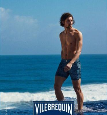 Wouter Peelen is the Face of Vilebrequin for Summer '18