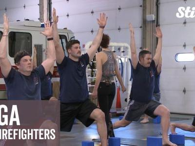 Yoga helps first responders keep calm and confident on the job
