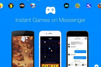 Facebook is bringing games like Pac-Man to Messenger and your News Feed