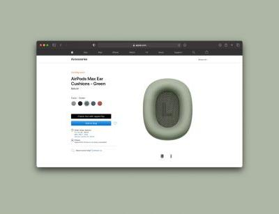 AirPods Max ear cushions now available to order separately for $69