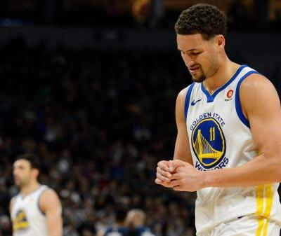 Report: Klay Thompson Has a Fractured Thumb