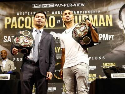 Manny Pacquiao vs. Keith Thurman: Fight date, time, PPV price, odds, full card