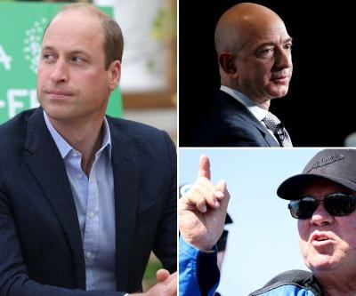 Prince William blasts space race after Bezos sends William Shatner into orbit