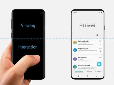 Samsung might have leaked the Galaxy S10's design