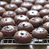 Indulge in These Salty-Sweet Chocolate Ganache Thumbprint Cookies