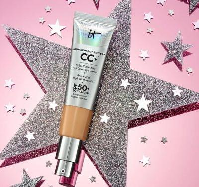 This $39 CC cream is essentially a tinted moisturizer with SPF, and it leaves my skin looking naturally dewy all day