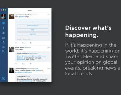 Twitter Discontinues Twitter for Mac App