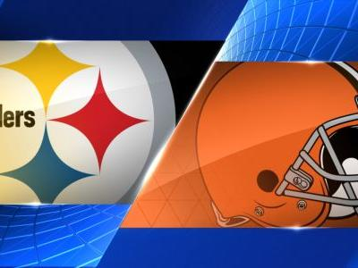 Steelers, Browns tie 21-21 after OT, Conner scores 2 touchdowns in first NFL start