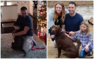 """Veteran Gained The Support Of A """"Doggie Buddy"""" Thanks To Our Customers!"""