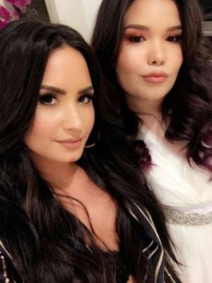 Demi Lovato's Little Sister Is All Grown Up, and Looks Exactly Like Her
