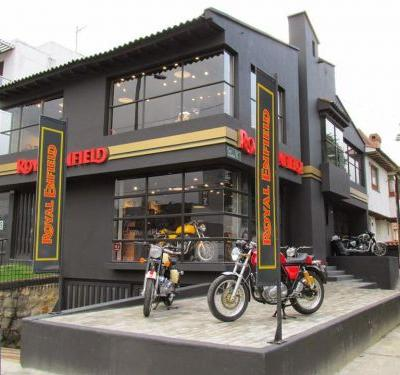 Royal Enfield exclusive store launch in Bogota, Colombia