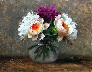 Cabbage Roses by artist Pat Meyer