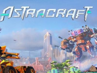 Astracraft is a sandbox mech combat game out now for iOS and Android