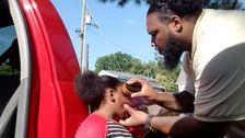DadsDoHairToo Shares Adorable Scenes Of Dads Doing Their Daughters' Hair