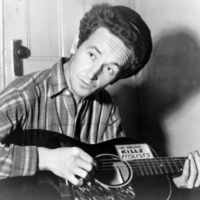 Hear An Unearthed Woody Guthrie Song From 1954