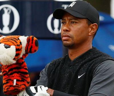 Contending Tiger Woods freaks out partner who missed the cut