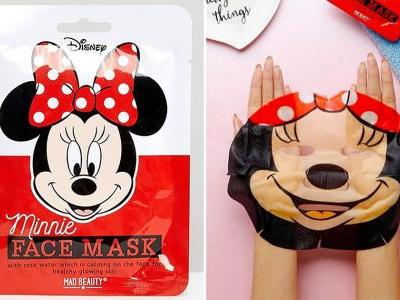 Throw on your favourite Disney film and relax with this Minnie Mouse face mask