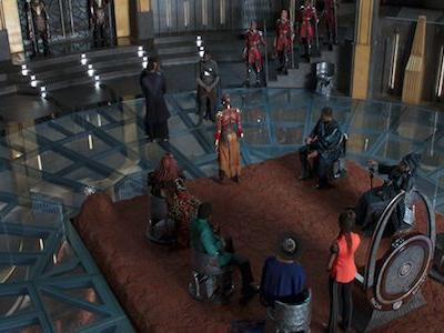 The Amazing Black Panther Set That Led Daniel Kaluuya To Recognize The Epicness Of Black Panther