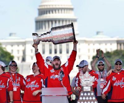 The Latest: Cup champion Capitals to visit White House