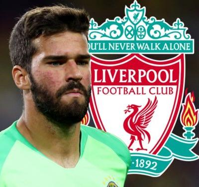 Video: Liverpool to sign Alisson in phenomenal £67 million deal