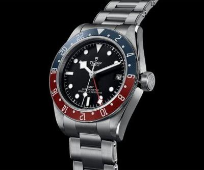 """Tudor Delivers an Old-School Sports Watch for the Black Bay GMT """"Pepsi"""""""