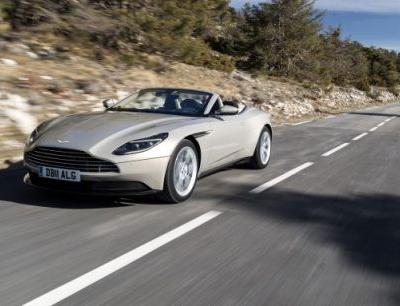 2019 Aston Martin DB11 Volante Driven: See and Be Seen