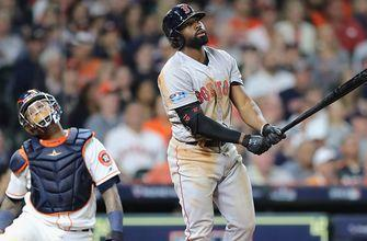 Jackie Bradley Jr launches monster home run to lead Boston past Houston for 3-1 ALCS lead