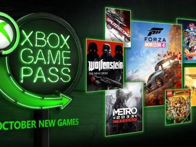 Xbox Game Pass October Games Include Forza Horizon 4, Wolfenstein: The New Order, And More