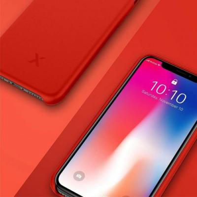 This stylish iPhone X red silicone case could be yours for just $4