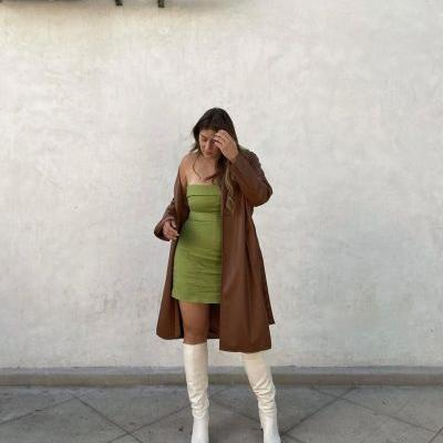 The Best Short, Midi, and Long Dresses to Wear With Boots This Fall