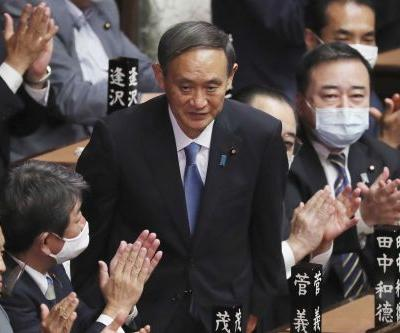 Yoshihide Suga named Japan's prime minister, succeeding Shinzo Abe
