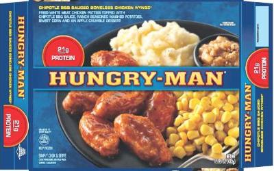 Federal officials post public alert about Hungry Man dinners