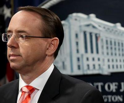 Rod Rosenstein quits before Trump can fire him