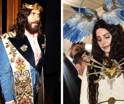 Jared Leto Casually Accessorized With a Replica of His Head at the 2019 Met Gala