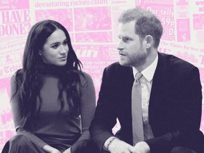 Meghan Markle & Prince Harry's Beef With The British Tabloids, Explained