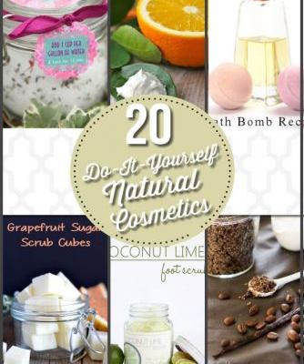 Your Personal SPA Treatment |20 DIY Natural Cosmetic Recipes