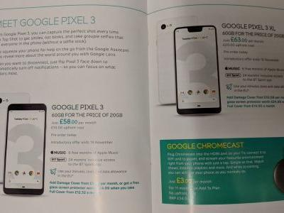 UK Ad Leaks Pixel 3 Pricing & Promos Ahead Of Google Event