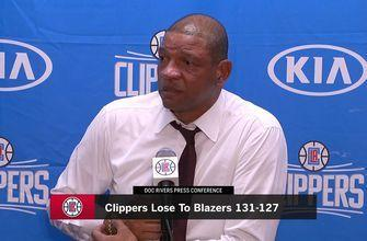 Doc Rivers: Game was lost in first quarter