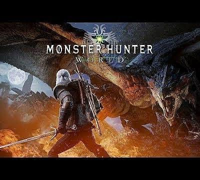 Monster Hunter: World Welcomes The Witcher's Geralt of Rivia