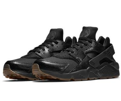 """Nike's Air Huarache Receives a Textured """"Snakeskin"""" Makeover"""